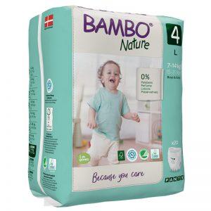 Bambo Nature Eco Friendly Pants 4 (7-14 kg, 20/1)